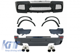 Complete Body Kit Exhaust Muffler Tips ACS BMW X5 E70 2007-2013 X5M M-Design - COCBBME70ME174