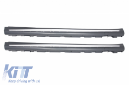 Complete Body Kit + Exhaust Tips suitable for MERCEDES Benz W222 S-Class (2013-up) S65 AMG Design LWB - COCBMBW222AMGS65