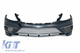 Complete Body Kit + Exhaust Tips suitable for MERCEDES Benz W222 S-Class (2013-up) S65 AMG Design LWB - COCBMBW222AMGS65C