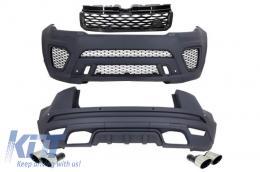 Complete Body Kit Land Rover Range Rover Evoque (2011-up) SVR Design - CBRRESVR