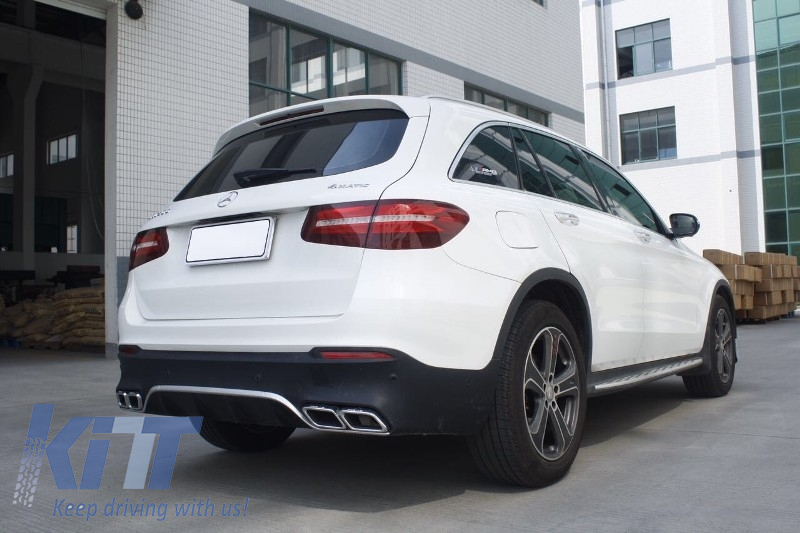 complete body kit mercedes benz glc 63 x253 suv 2015 amg. Black Bedroom Furniture Sets. Home Design Ideas