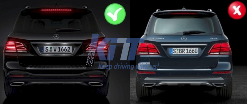 Complete body kit mercedes benz gle w166 suv 2015 amg design for Mercedes benz tuning parts
