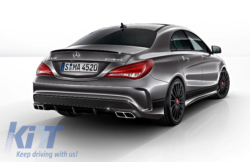 Complete body kit mercedes benz w117 cla 2013 up cla45 for Mercedes benz upholstery kits
