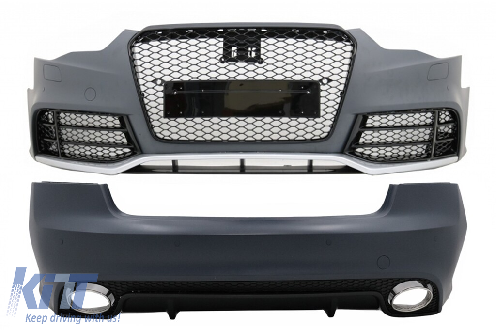 Complete Body Kit suitable for AUDI A5 8T Facelift Coupe ...