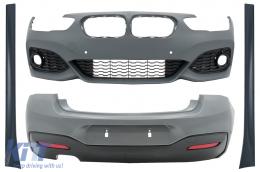 Complete Body Kit suitable for BMW 1 Series F20 LCI (2015-2018) M-Technik Design - CBBMF20MTLCI