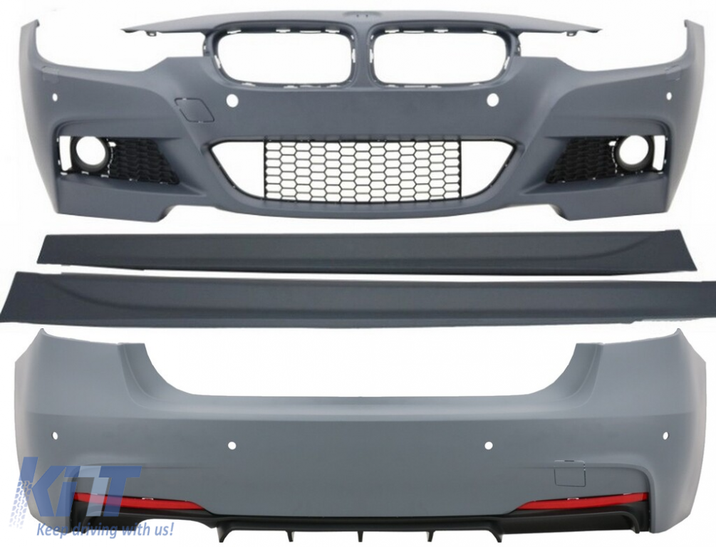 Painted or Primed BMW Front Tow Hook Cover F32 F33 F36 4 Series 2012-2016