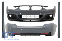 Complete Body Kit suitable for BMW 4 Series F36 (2013-up) M-Performance Design Grand Coupe - CBBMF36MPTSOWOFL
