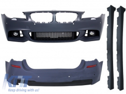 Complete Body Kit suitable for BMW 5 Series F10 (2014-2017) Facelift LCI M-Technik Design - COCBBMF10MTLCI