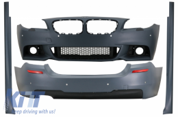 Complete Body Kit suitable for BMW 5 Series F10 LCI (2014-2017) M-Technik Design - CBBMF10MTLCI