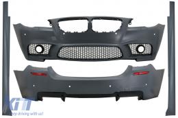 Complete Body Kit suitable for BMW 5 Series F10 LCI (2015-2017) M5 Design - CBBMF10M5LCI
