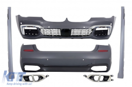 Complete Body Kit suitable for BMW 7 Series G12 (2015-up) M-tech M-Technik Sport Design - CBBMG12MT