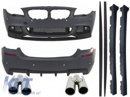 Complete Body Kit suitable for BMW F10 5 Series (2011-up) M-Performance Design with Exhaust Muffler Tips ACS-design - COCBBMF10MPDE174