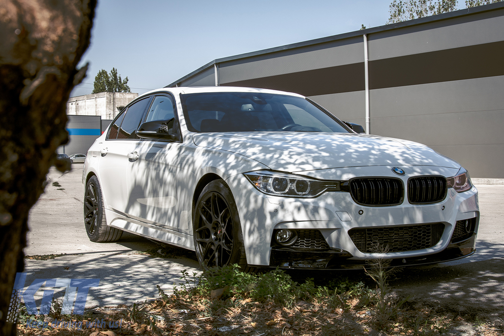 Complete Body Kit Suitable For Bmw F30 2011 2014 M Performance Design With Central Grilles Kidney Carpartstuning Com