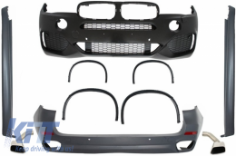 Complete Body Kit suitable for BMW X5 (F15) (2013-2018) X5 M Sport Design - CBBMF15X5MS