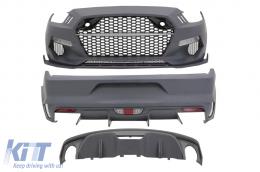 Complete Body Kit suitable for Ford Mustang Mk6 VI Sixth Generation (2015-2017) Rocket Style - CBFMU
