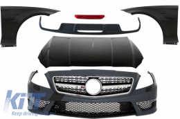 Complete Body Kit suitable for MERCEDES Benz W218 CLS (2011-up) A-Design - CBMBW218AMG