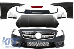 Complete Body Kit suitable for MERCEDES Benz W218 CLS (2011-up) A-Design - COCBMBW218AMG