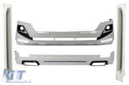 Complete Body Kit suitable for TOYOTA Land Cruiser Prado FJ150 (2014-up) Modellista Design - CBTOLCP