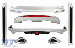 Complete Body Kit suitable for TOYOTA Land Cruiser V8 FJ200 (2015-up) with Halogen Running Boards - COCBTOLCFJ200