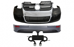 Complete Body Kit suitable for VW Golf 5 (2005-2007) R32 Design Exhaust System - COCBVWG5R32ES