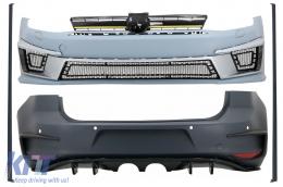 Complete Body Kit suitable for VW Golf 7 VII 5G1 (2012-2017) R400 Design - CBVWG7R400