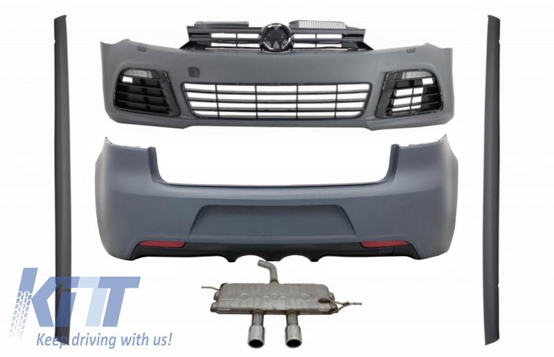 Fits 2002-2008 Volkswagen Passat Custom Spoiler Wing With Light Primered