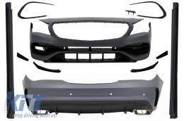 Complete Body Kit suitable forMercedes CLA C117 W117 (2013-2018) Facelift CLA45 Design - CBMBW117AMG