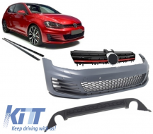 Complete Body Kit Volkswagen Golf 7 VII 12+ GTI Look With Front Grille