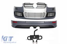 Complete Body Kit Volkswagen VW Golf 5 2005-2007 R32 Design Exhaust System