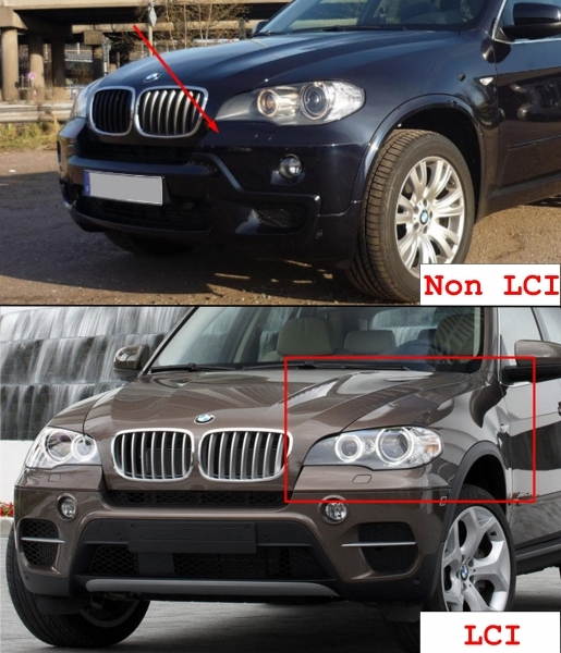 Complete Body Kit with Exhaust Muffler Tips suitable for BMW X5 E70  (2007-2013) X5M M-Design