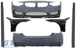 Complete Body Kit with Front Fenders suitable for BMW 4 Series F32 F33 Coupe Cabrio (2013-02.2017) M4 Design - COCBBMF32M4DOFF