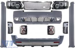 Complete Conversion Autobiography Design Body Kit suitable for Land Range Rover Vogue L322 (2002-2009) Retrofit to Facelift 2010+