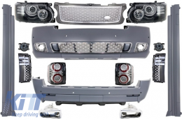 Complete Conversion Autobiography Design Body Kit Range Rover Vogue (L322) (2002-2009) Retrofit to Facelift 2010+ - COCBRRVL322GSFL