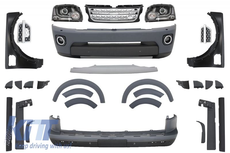 Complete Conversion Body Kit suitable for Land ROVER Discovery 3 to  Discovery 4 Facelift