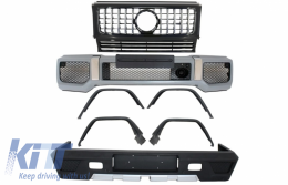 Complete Conversion Body Kit suitable for MERCEDES G-Class W463 (1989-2017) G63 G65 with Front Grille GT-R Panamericana Design - COFBMBW463AMGGTRFG