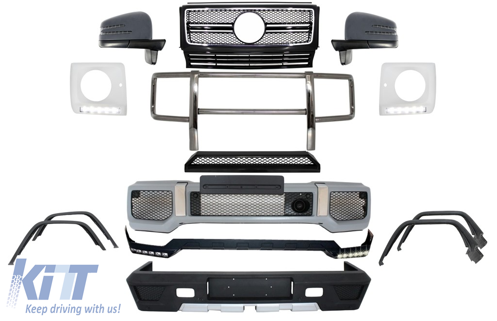 Complete Conversion Retrofit Body Kit suitable for MERCEDES Benz W463  G-Class (1989-up) G63 A-Design
