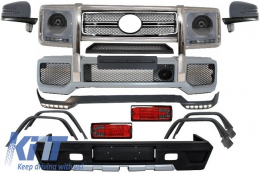 Complete Conversion Retrofit Body Kit suitable for MERCEDES Benz W463 G-Class (1989-up) G63 G65 A-Design - COCBMBW463AMGLS
