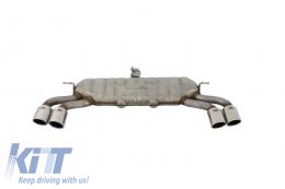 Complete Exhaust System Audi A3 8V HATCHBACK (2012-2015) S3 Design - ESAUA38VSH