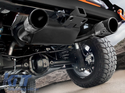 Complete Exhaust System Axle-Back suitable for JEEP Wrangler / Rubicon JK (2007-2017) Double Exhaust Evacuation - TY-JEWJKM