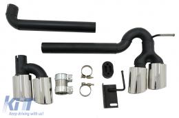 Complete Exhaust System suitable for Audi A3 8V Sedan / Cabrio (2012-2019) Sport Design - ESAUA38VRS