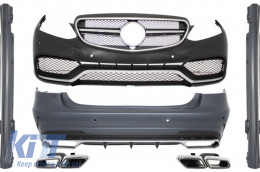 Complete Exterior Body Kit Mercedes Benz W212 E-Class Facelift (2013-up) E63 AMG Design  - COCBMBW212FAMGTY