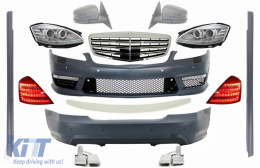 Complete Facelift AMG  Body Kit Mercedes Benz W221 S-Class SWB (2005-2009) - COCBMBW221FSHLD