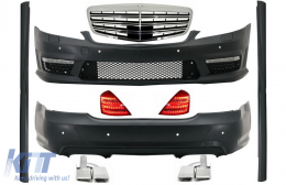 Complete Facelift Body Kit suitable for MERCEDES Benz W221 S-Class LWB (2005-2009)