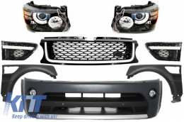 Complete Facelift Conversion Assembly Land Rover Range Rover Sport (2005-2009) L320 Autobiography - COFBRRSAHL