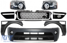 Complete Facelift Conversion Assembly Land Rover Range Rover Sport (2005-2013) L320 Autobiography Design - COFBRRSAHLB