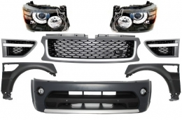 Complete Facelift Conversion Assembly Land Rover Range Rover Sport (2005-2013) L320 Autobiography Design - COFBRRSAHLG