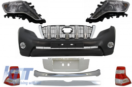 Complete Facelift Conversion Body Kit Assembly 2009+ to 2014+ suitable for TOYOTA Land Cruiser Prado F J150 - CBTOPFJ150