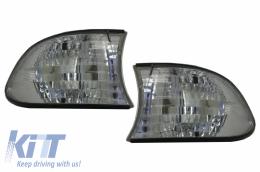 Corner Lights suitable for BMW 7 Series E38 (1995-1998) Chrom - KGB06/1242176