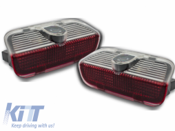 CREE LED Door Step Courtesy Laser Light Shadow Logo Volkswagen Passat Golf Tiguan Touareg Jetta - CLVW01