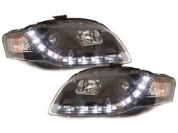 D-LITE headlights AUDI A4 B7 daytime running light_black